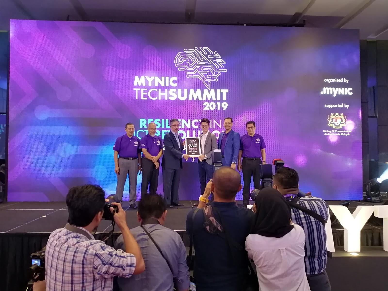 JianYang SEO Specialist Speaks at MYNIC Tech Summit 2019
